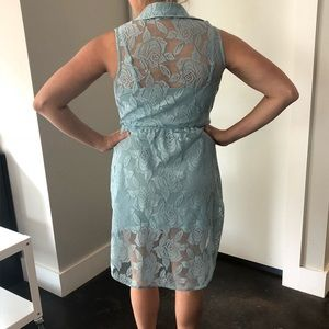 High Low Lacey dress
